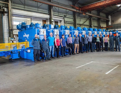 Biggest single line of MHS10 Horizontal resaws shipped to Poland