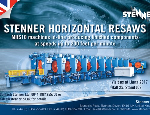 Stenner Ltd : Ligna 2017 : Visit us at Hall 25 Stand J07