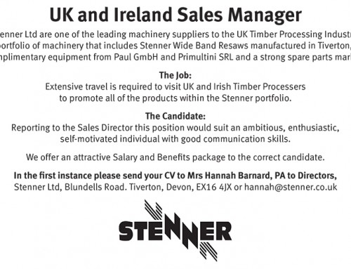 UK and Ireland Sales Manager Needed