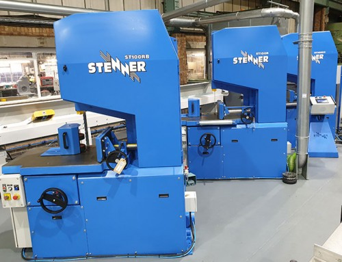 The Stenner family of 36 inch resaws